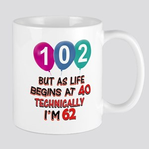 102 years.. but technically younger Mug